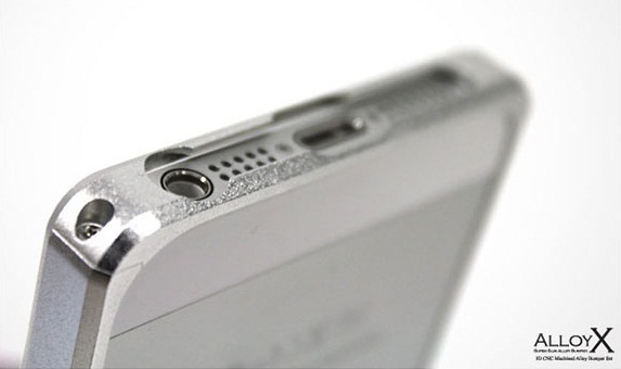 PATCHWORKS Alloy X for iPhone 5 Silver