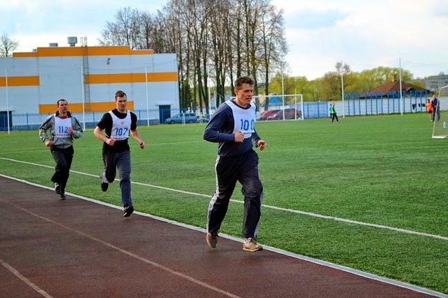 7 мая 2014 на стадионе Чайка в Угличе прошла спартакиада трудящихся по легкой атлетике