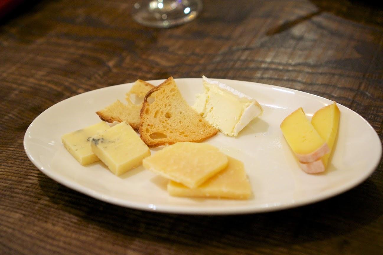 北海道産チーズ盛り合わせ
