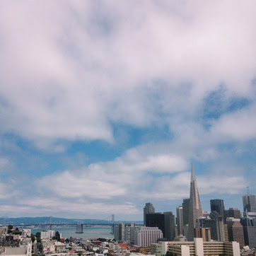 What I am Grateful for This Week: View of San Francisco Skyline