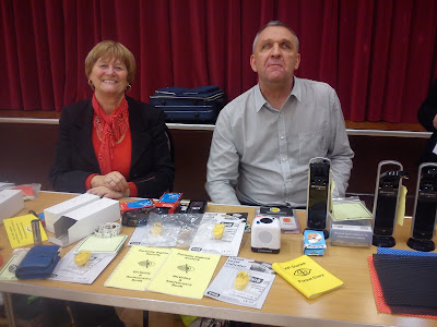 Bernice and Steve from East Sussex Association for the Blind