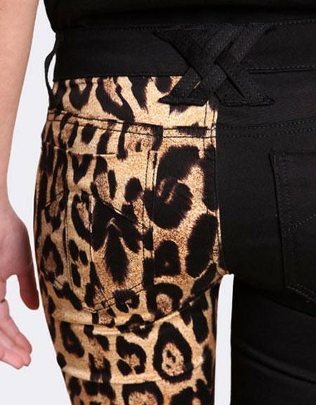 Inspiração: oncinha - calça customizada