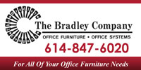 Used Office Furniture Columbus Ohio The Bradley Company Logo