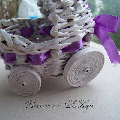 papierowa wiklina plecionki koszyk ozdoby do domu Panorama LeSage Anna Grabowska broszki szydełkowe jesienne kolorowe sezonowe wózek dla dziecka gratulacje ciąża
