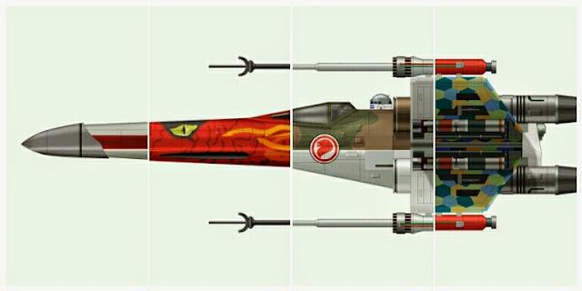 X-Wings de Clavework Graphics
