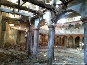 ruiny kościoła ewangelickiego z Żeliszowa