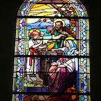 Fermanville: l'église et ses vitraux