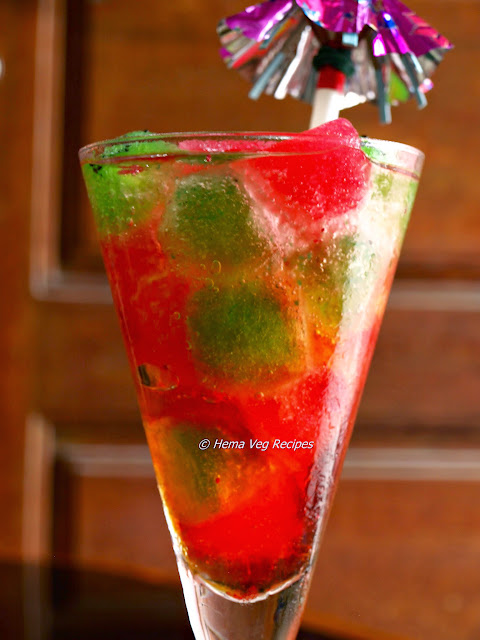 Strawberry Kiwi Mocktail