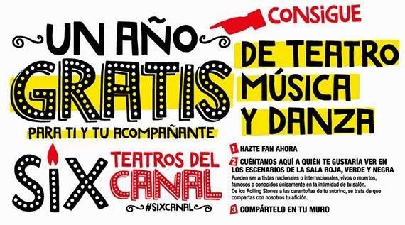 Un año gratis de Teatro, Música y Danza en los Teatros del Canal
