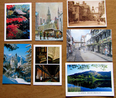 Postcards of locations