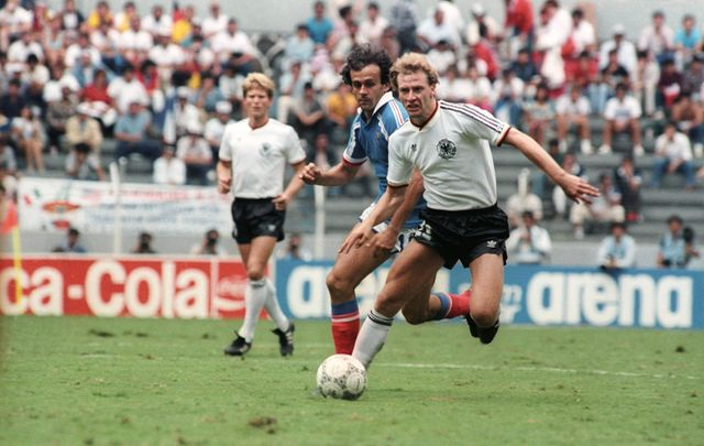 1986: West Germany - France 2-0