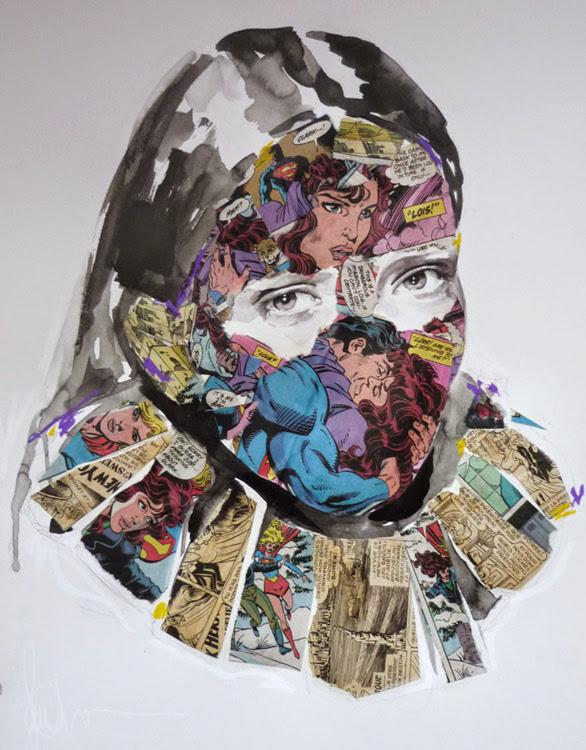 *另類的方式閱讀超級英雄:SANDRA CHEVRIER 畫出女性的英雄情節 14