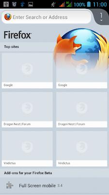 Xposed Framework-App Settings-Firefox :: default settings