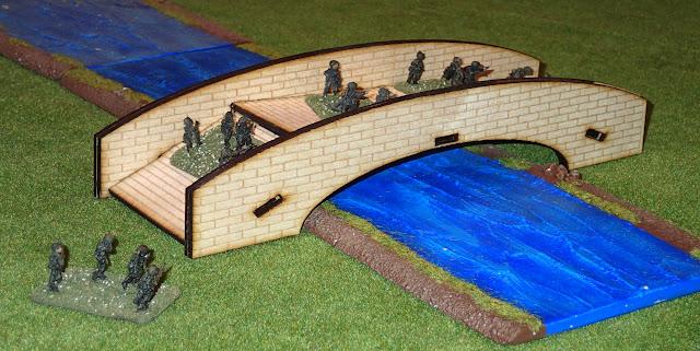 Wargame Laser Cut Terrain :: Stone Bridge - Fun Elements
