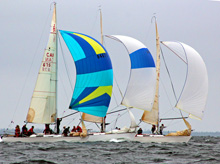 J/29s sailing one-design- Nova Scotia Chester Race Week