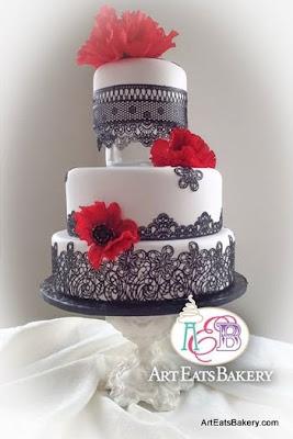 Modern Floral Wedding Cake Designs Art Eats Bakery Taylor S Sc