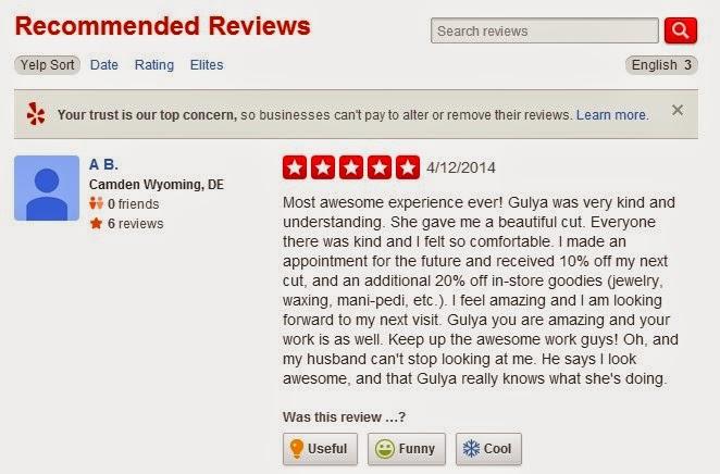 使用韋恩美髮剪刀的美國Rene沙龍店,客人非常死忠,可以在各種網路社群平台上看到他們的評價