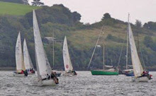 J/24s sailing off Plymouth, England