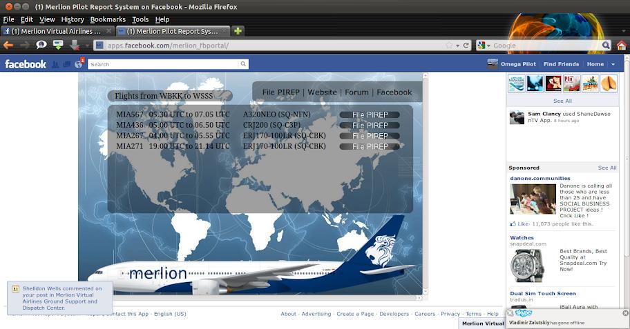 Merlion Facebook Portal Application! 2011-12-20_18-22-36