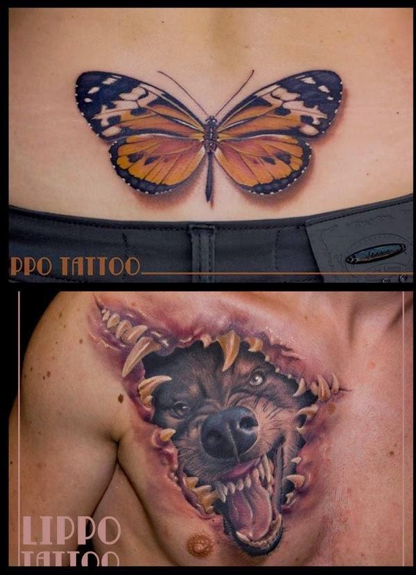 Title Serius Cool Tattoo 3 Dimensi Oleh Lippo Tattoo 13 Gambar
