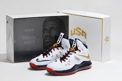 nike lebron 10 gr usa basketball 11 01 uwr An Eye Candy Look at LeBron X+ USAB United We Rise Limited Edition