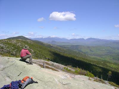 Au pic du South Moat Mountain