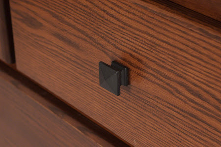 Haiku Horizontal Dresser in Blackened Oak