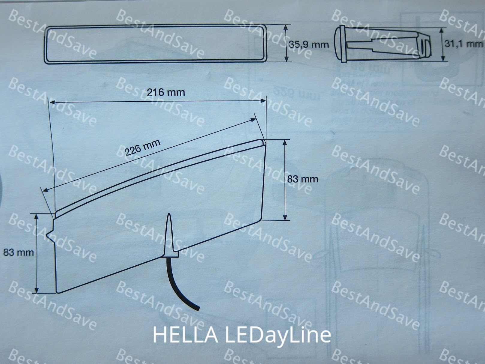 Hella Ledayline Led Daytime Running End 7 21 2017 515 Pm Wiring Harness 1 Control Unit And Universal Mounting Hardware Step By Instructions