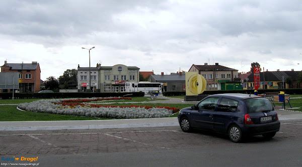 rynek w Piątku - geometryczny środek Polski