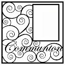 Communion Scrapbooking Die Cut Overlay