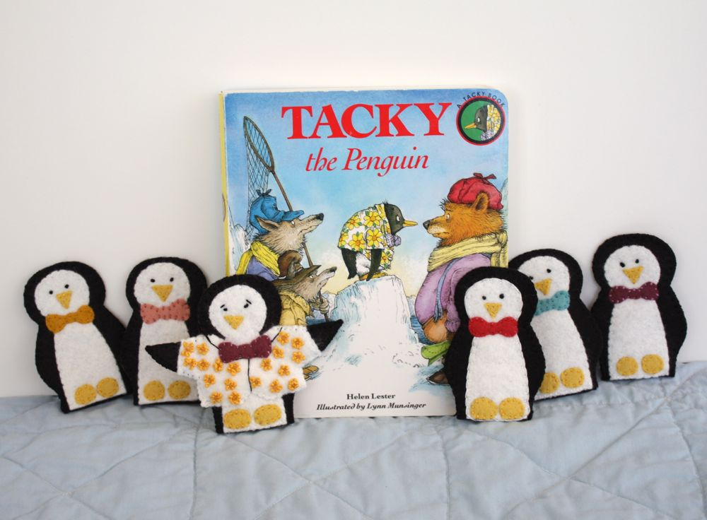 Tacky The Penguin Coloring Pages