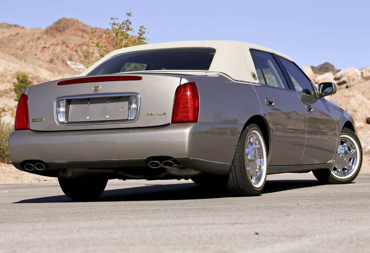 How Often Rotate Tires >> 2004 Cadillac DeVille CARRIAGE ROOF VOGUE TYRES CHROME ...