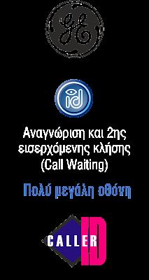 GE 30011 General Electric Caller ID