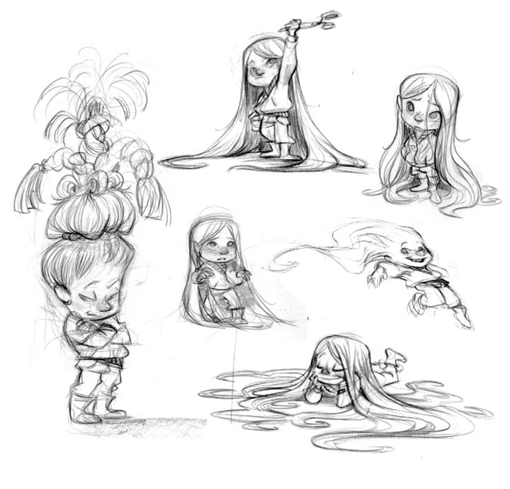 Character Design Appeal : Character and creature design notes an interview with