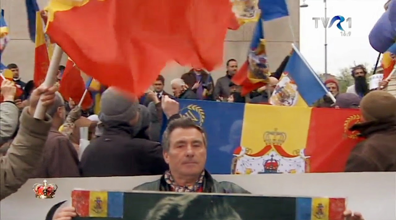 Marș monarhie 2014