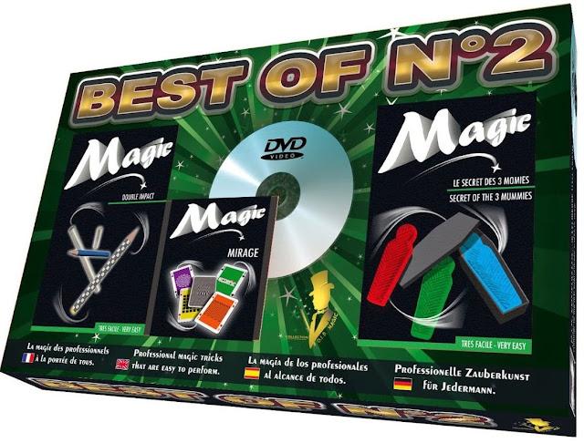 Đồ chơi ảo thuật tổng hợp 2 Oid Magic đi kèm với đĩa DVD