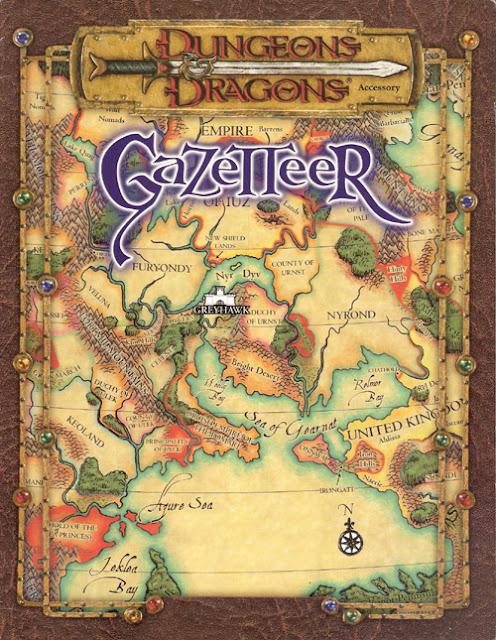 D&D Gazetteer cover