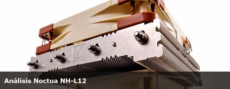 Análisis disipador Noctua NH-L12