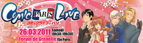 Comic Live in Paris