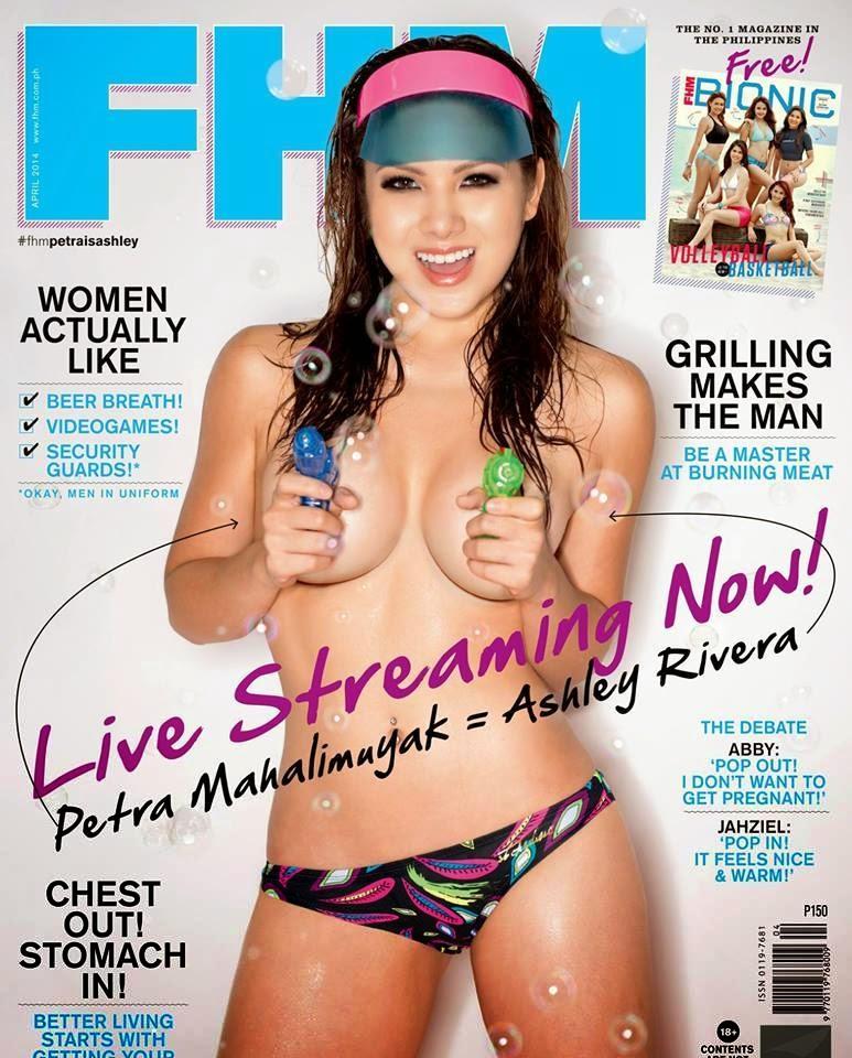 Ashley Rivera FHM April 2014 cover girl 01