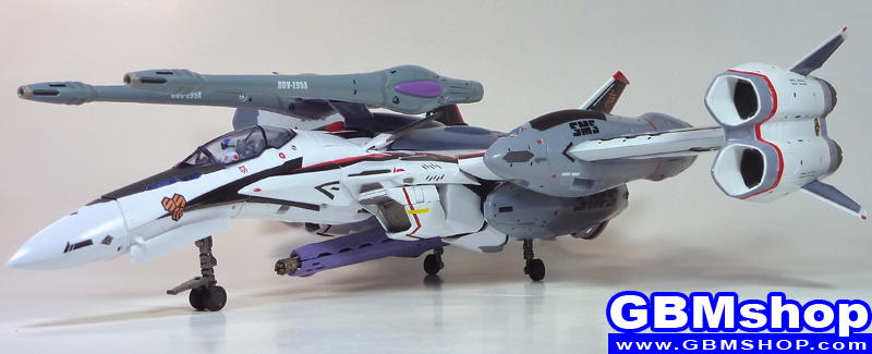 Macross Frontier VF-25F Renewal Version Tornado pack atmosphere use Fighter Mode