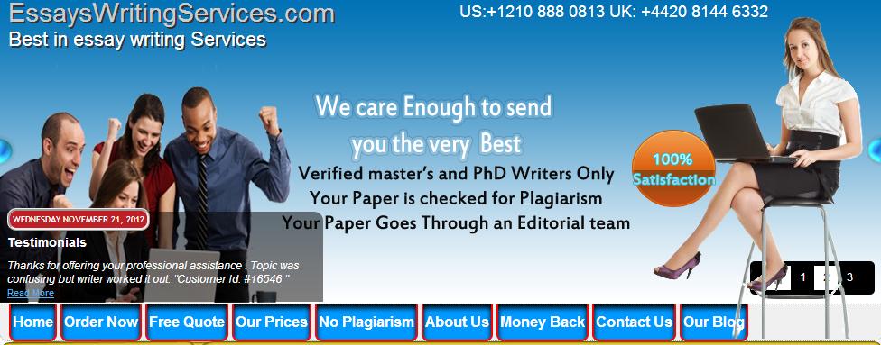 Custom Essay Writing Services UK