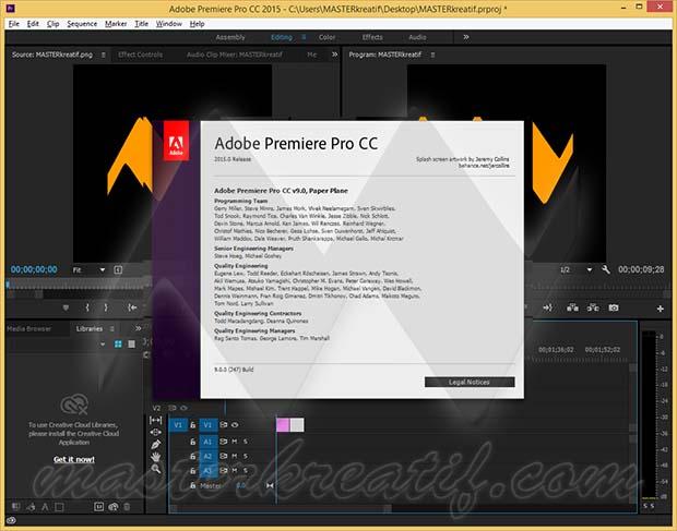 export adobe premiere pro cc crack