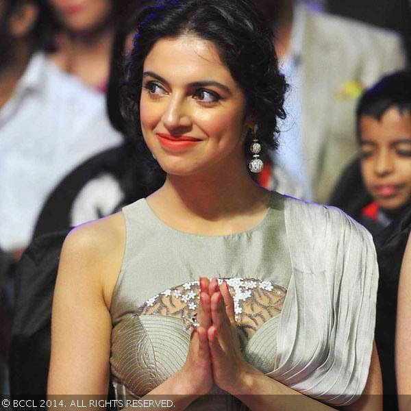 Divya Khosla Kumar during the Mirchi Music Awards 2014, held at Yash ...