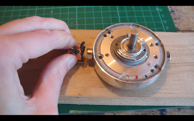 Glue the solenoid into place