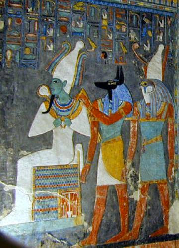 Osiris God Of The Underworld And Death