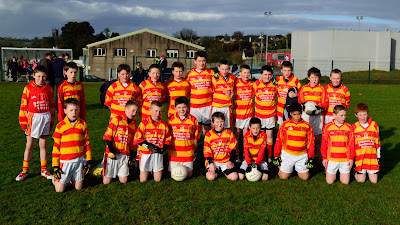 Newcestown under 12 squad who played Bandon on 19 April 2013 in Bandon
