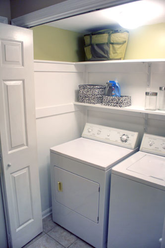 DIY Laundry Closet Ideas