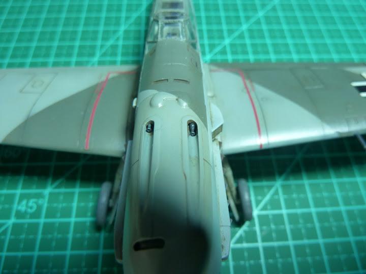 Bf-109 E-3 Tamiya 1/48 - Reforma pintura P1020572