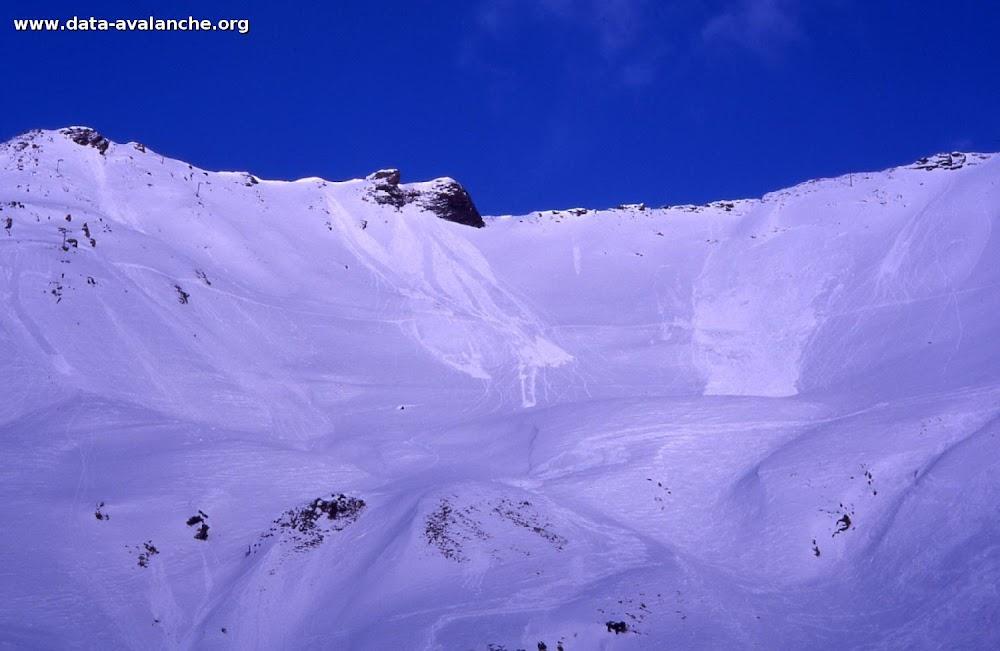 Avalanche Mont Thabor, secteur Punta Bagna, à droite du téléski de Roche 1 - Photo 1
